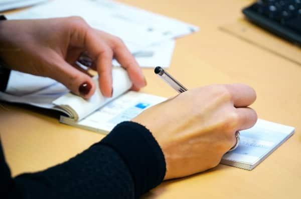 Empréstimo pessoal com cheque