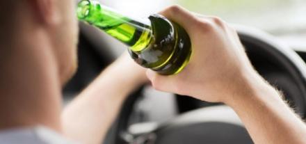 Bater o carro embriagado