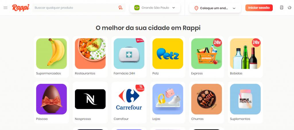 aplicativo Rappi