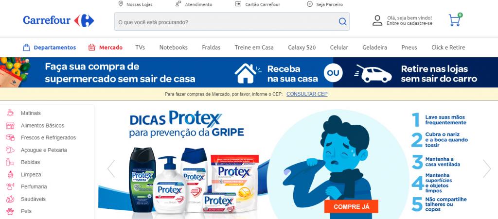 aplicativos de supermercado Carrefour